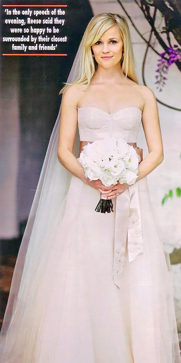 15 The Best Celebrity Wedding Dresses Of All Time