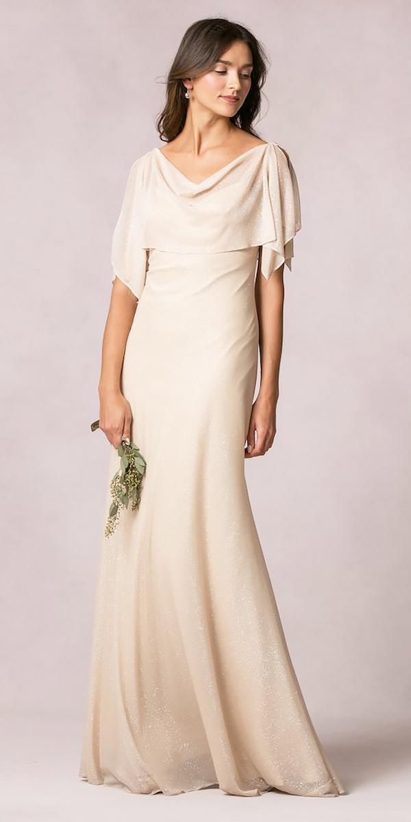 sheath with sleeves long bridesmaid dresses jenny yoo