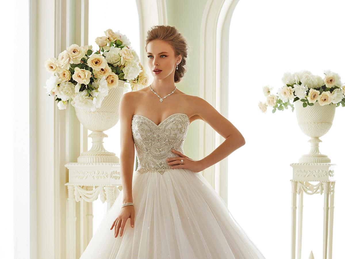 sweetheart with embroidery ball gown sophia tolli wedding dresses