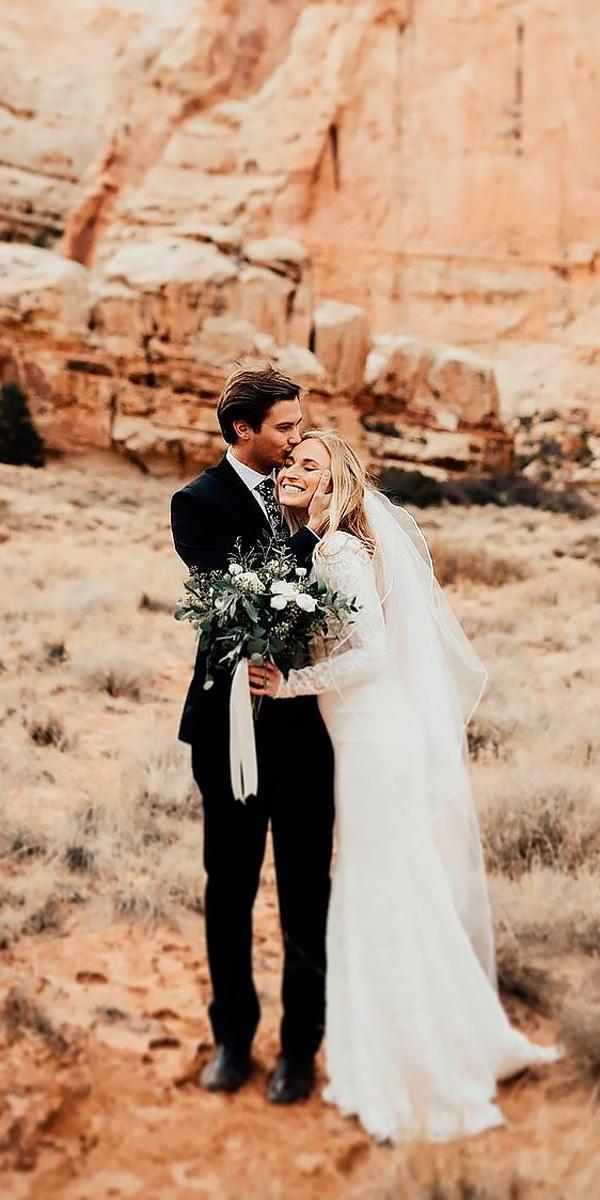 vintage elegant wedding dresses sheath long sleeve with veil benjamin