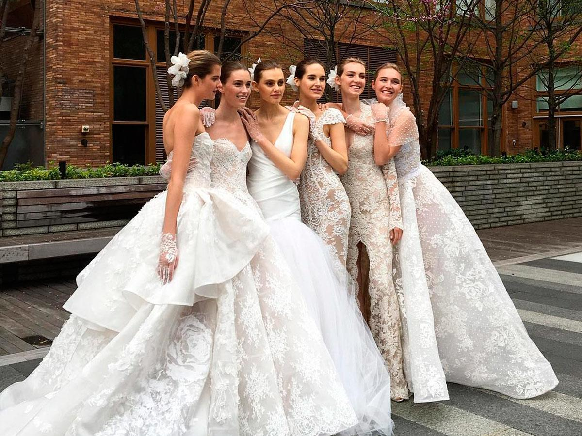 a line and sheath with v back and strapless and train monique lhuillier wedding dresses