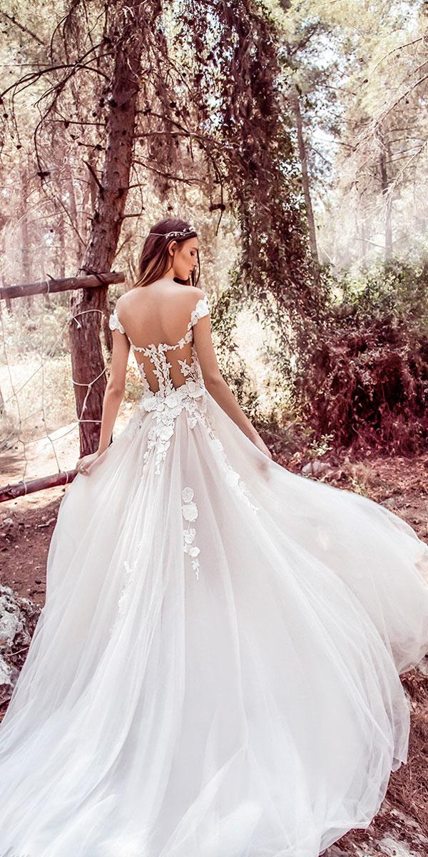 a line cap sleeves sweetheart neckline off the shoulder wedding dresses galia lahav