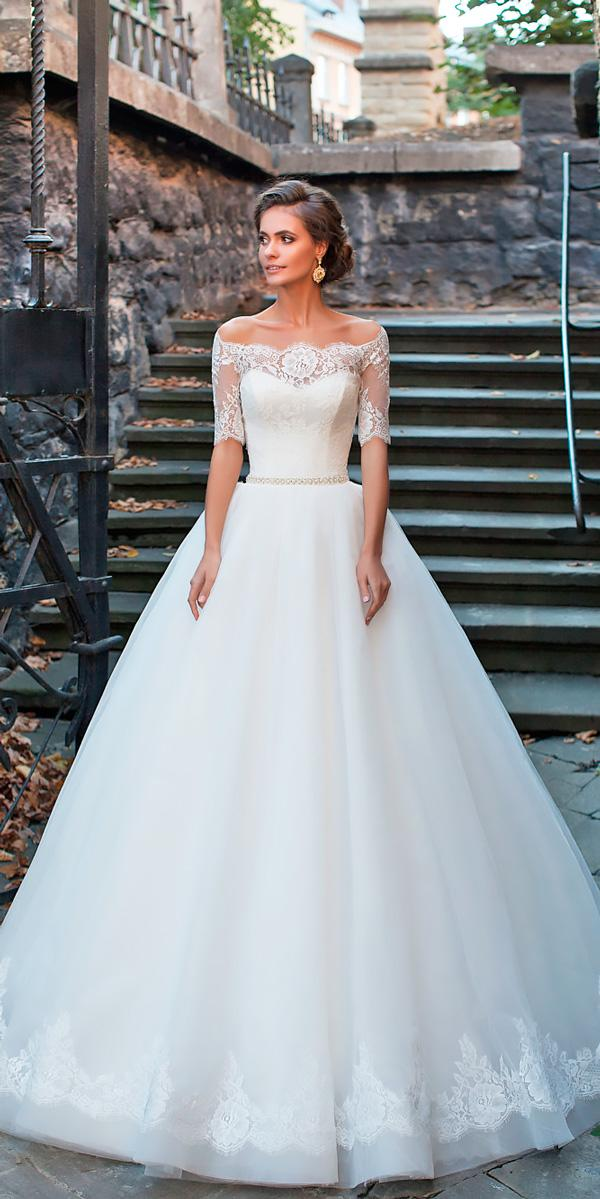 a line lace sweetheart off the shoulder wedding dresses milla nova