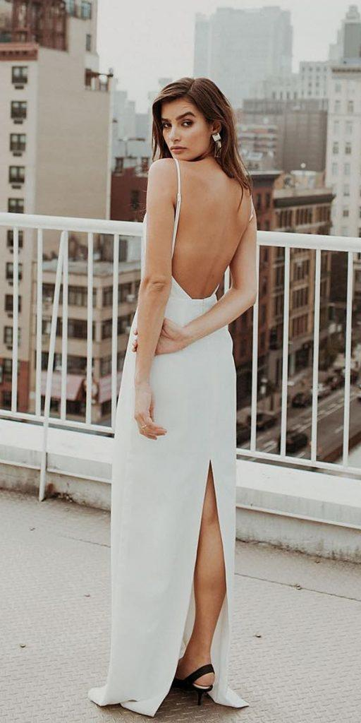 15 Great Ideas For Original Backless Wedding Dresses
