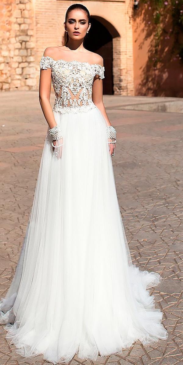 beach sheath wedding dresses straight lace off the shoulder lorenzo rossi
