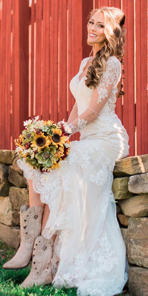 Bridal Guide 27 Country Wedding Dresses Wedding Dresses