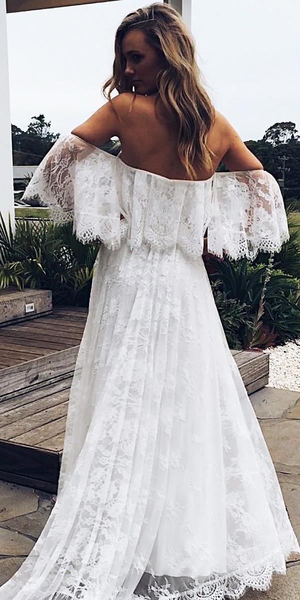 destination wedding dresses sheath full lace beach grace lovers lace-