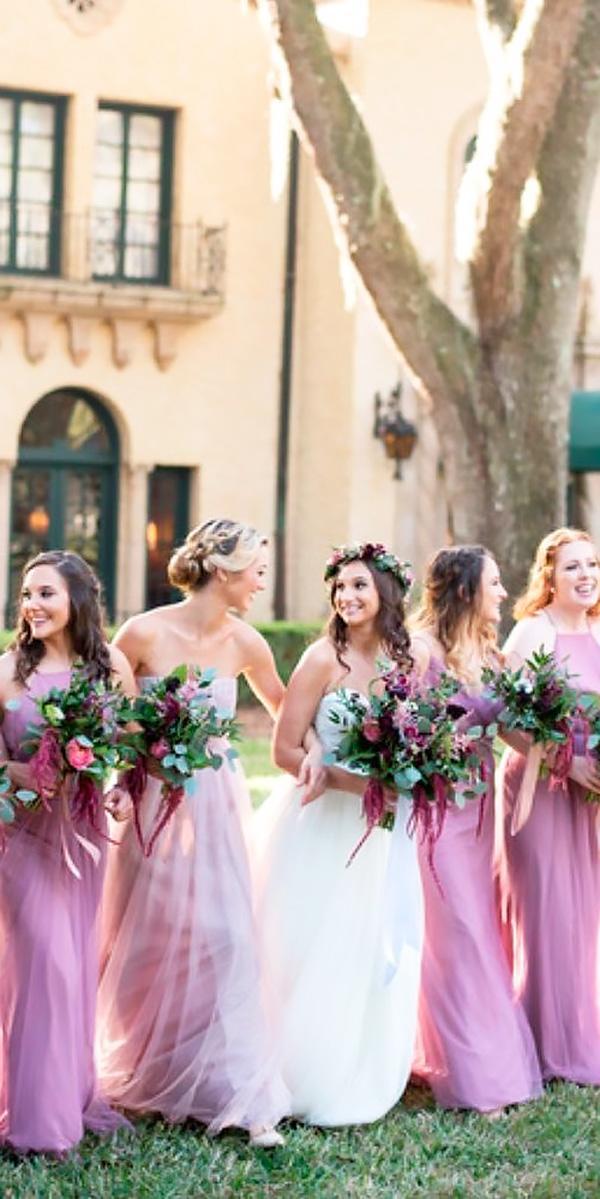 halter spaghetti straps long modest lavender bridesmaid dresses jenn guthrie