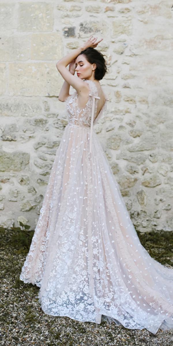 ivory wedding dresses a line sleeveless ange etoiles