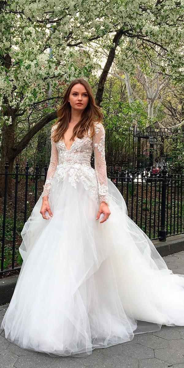 18 Beautiful Monique Lhuillier Wedding Dresses | Wedding Dresses Guide