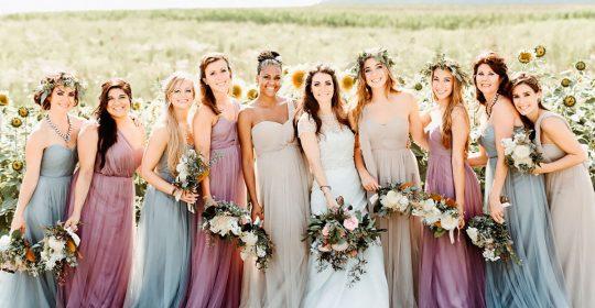 lavender bridesmaid dresses logan clement