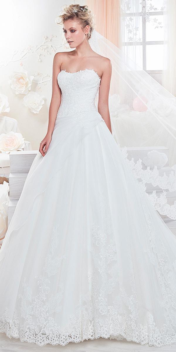 nicole spose wedding dresses a line sweetheart simple 2018