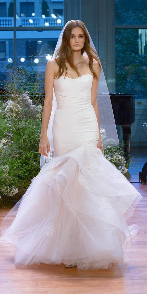 18 Beautiful Monique Lhuillier Wedding Dresses | Wedding Dresses Guide