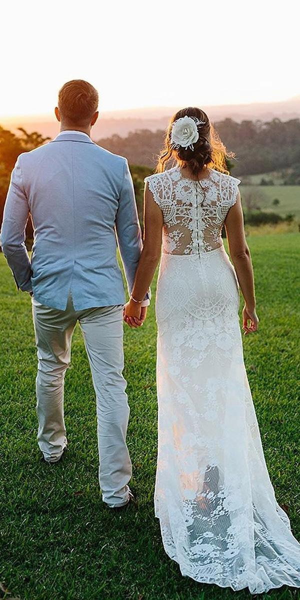 country wedding dresses with tattoo effect back claire pettibone