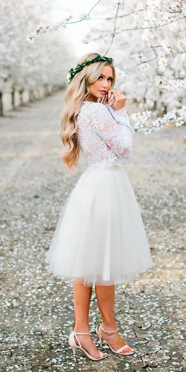 Bridal guide 27 country wedding dresses wedding dresses for Short country wedding dress