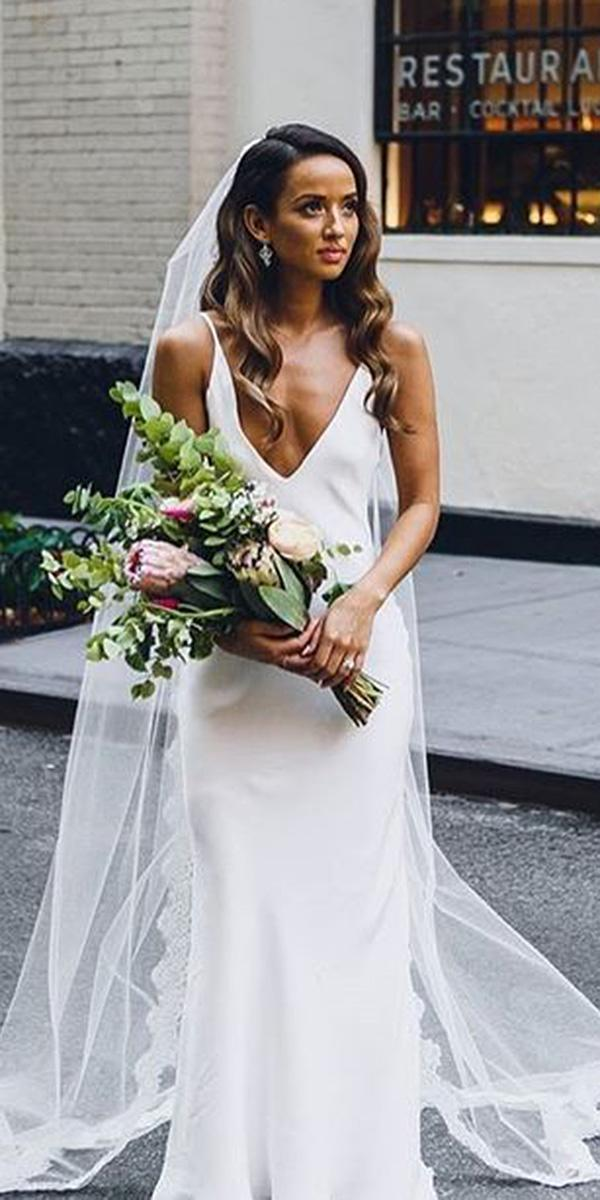 24 Excellent And Elegant Silk Wedding Dresses | Wedding Dresses Guide