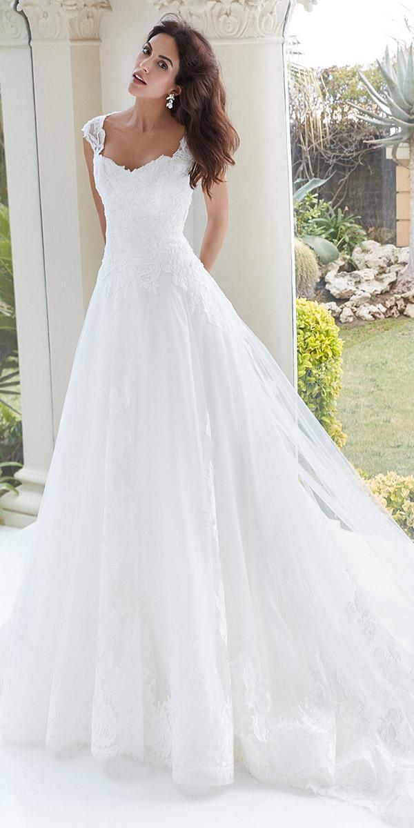 alessandra rinaudo wedding dresses a line cap sleeves sweetheart lace elegant