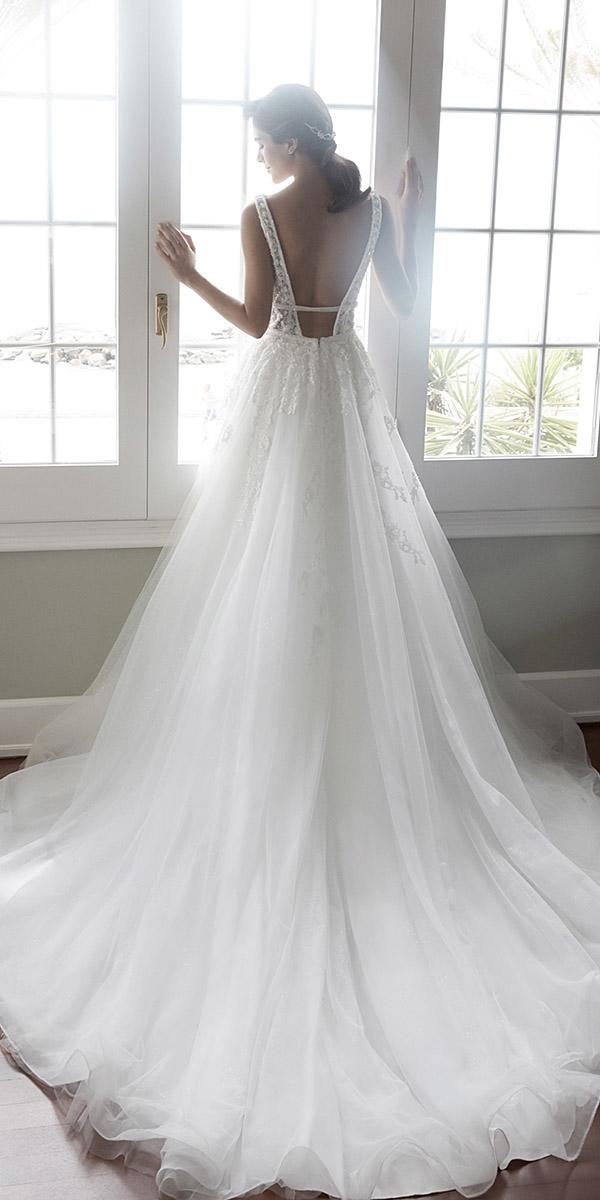 alessandra rinaudo wedding dresses a line sleeveless open low back with train