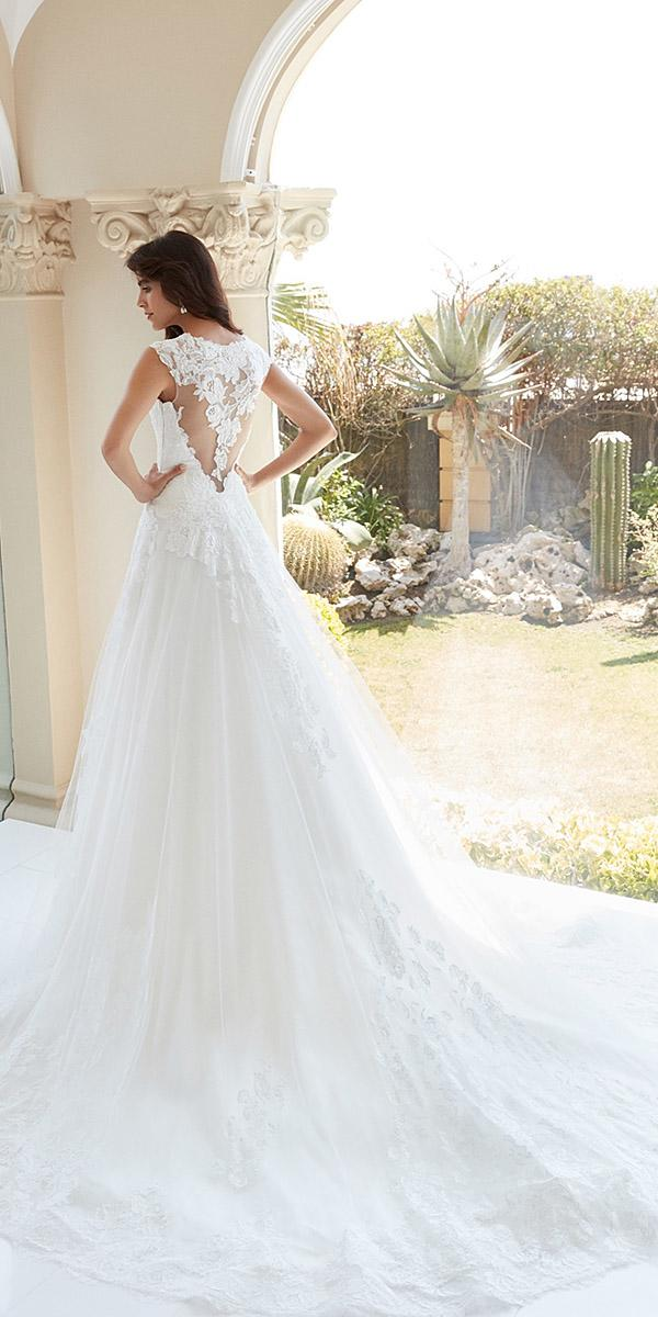 alessandra rinaudo wedding dresses a line sleveless lace tatto back
