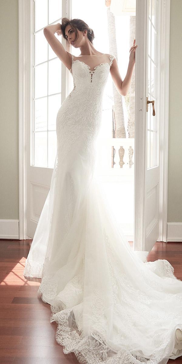 alessandra rinaudo wedding dresses cap sleeves illusion sweetheart lace with train