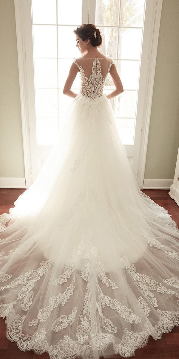alessandra rinaudo wedding dresses cap sleeves lace back with train
