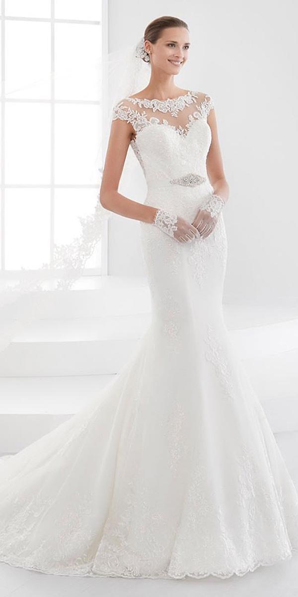 alessandra rinaudo wedding dresses mermaid illusion lace sweetheart with train