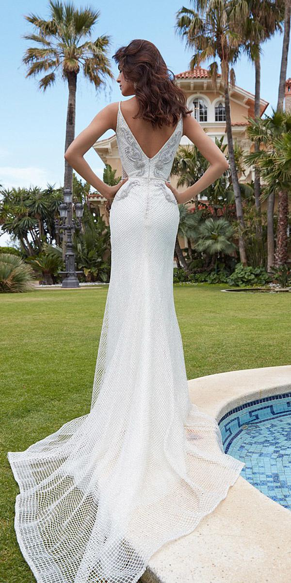 alessandra rinaudo wedding dresses mermaid v back lace embellished with train