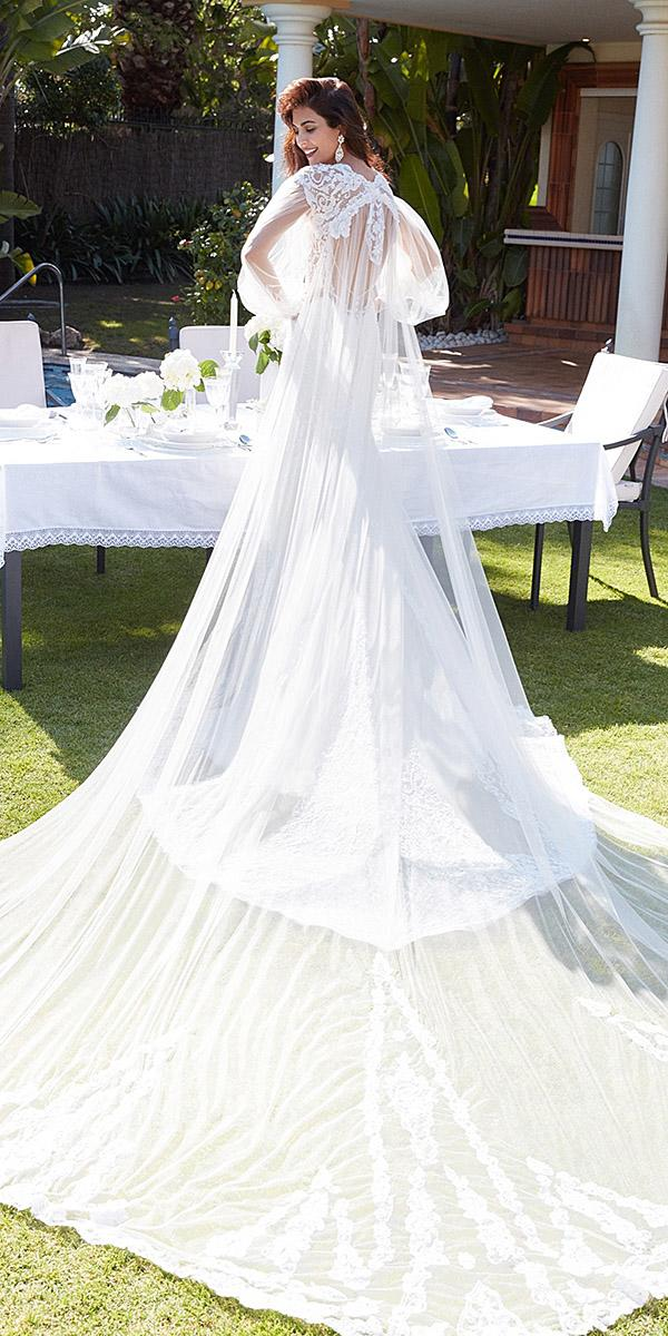 alessandra rinaudo wedding dresses open low back lace with train