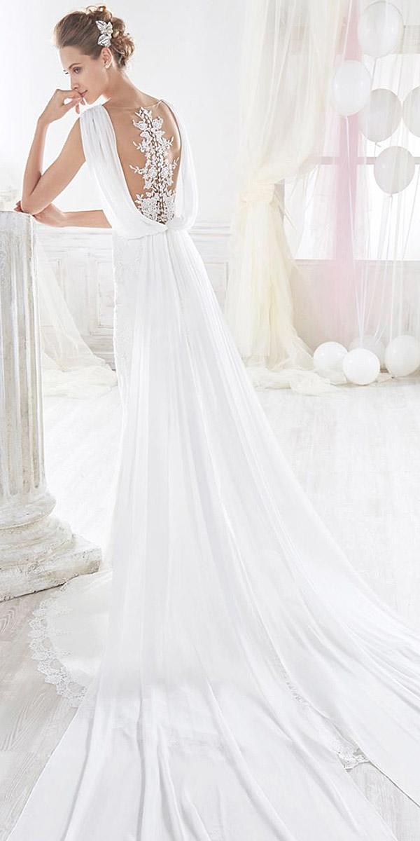 alessandra rinaudo wedding dresses tatto illusion back with train