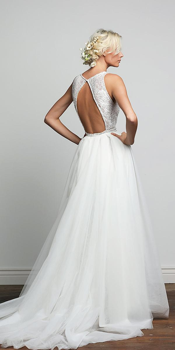 barbara kavchok wedding dresses 2018 open back a line embroidered