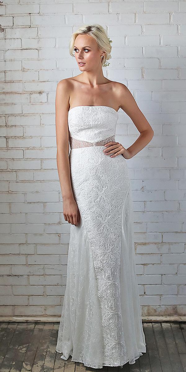 barbara kavchok wedding dresses 2018 tulle skirt appliques romantic
