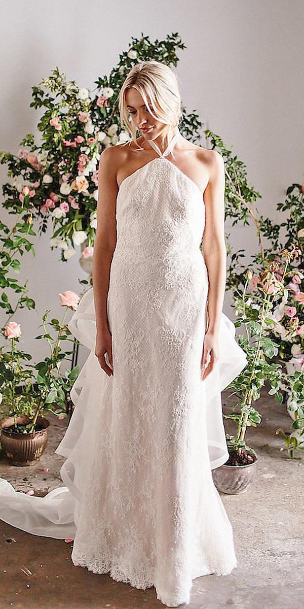 karen willis holmes wedding dresses straight full lace sleeveless floral