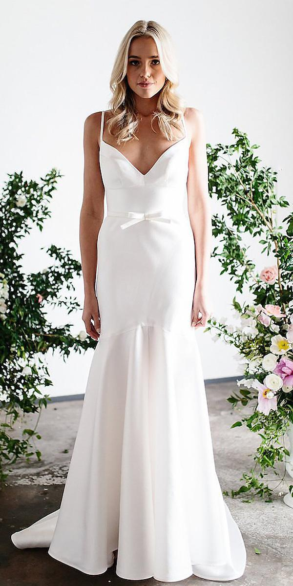 karen willis holmes wedding dresses sweetheart spagetti straps sleeveless elegant