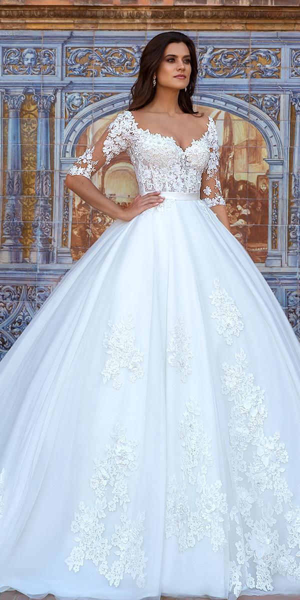 30 Brilliant Crystal Design Wedding Dresses | Wedding Dresses Guide
