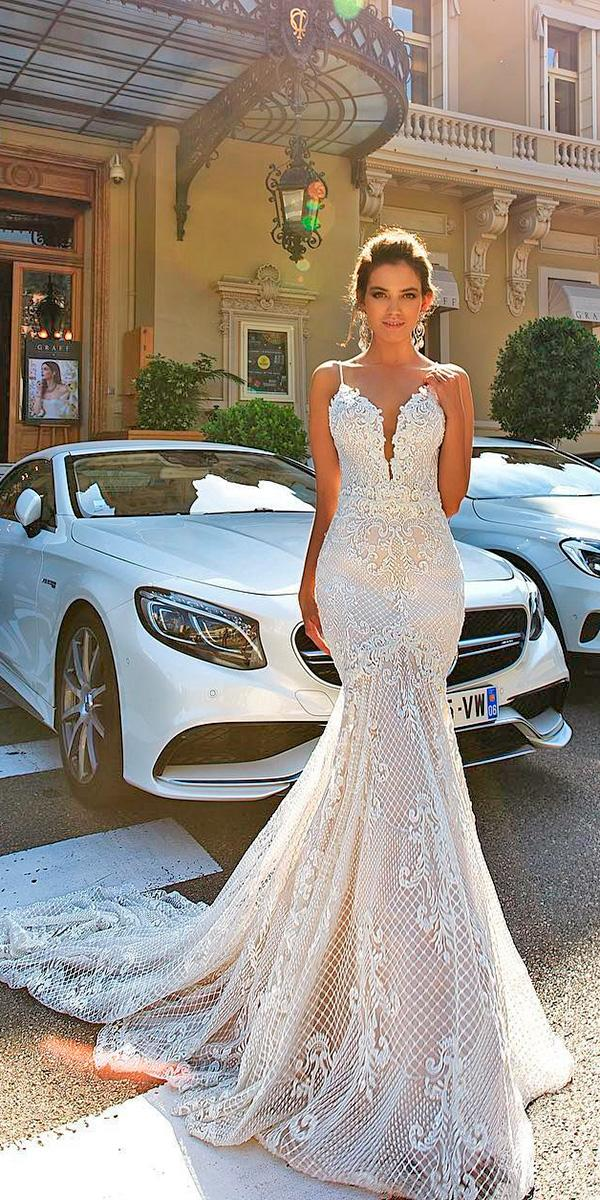 30 Brilliant Crystal Design Wedding Dresses | Wedding Dresses Guide