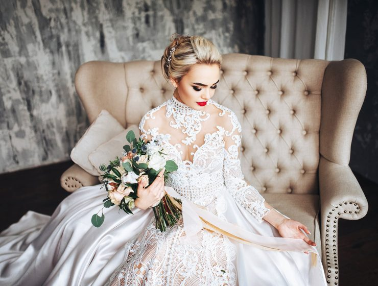 lace wedding dresses with sleeves featured