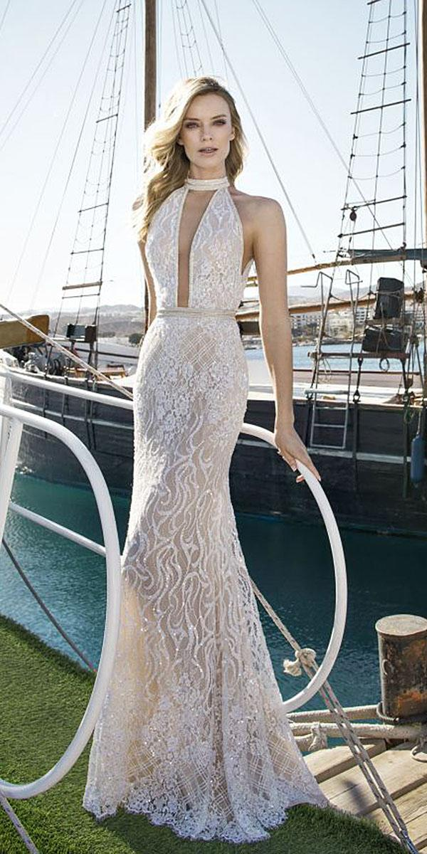 lian rokman wedding dresses mermaid lace embellishment embroidered