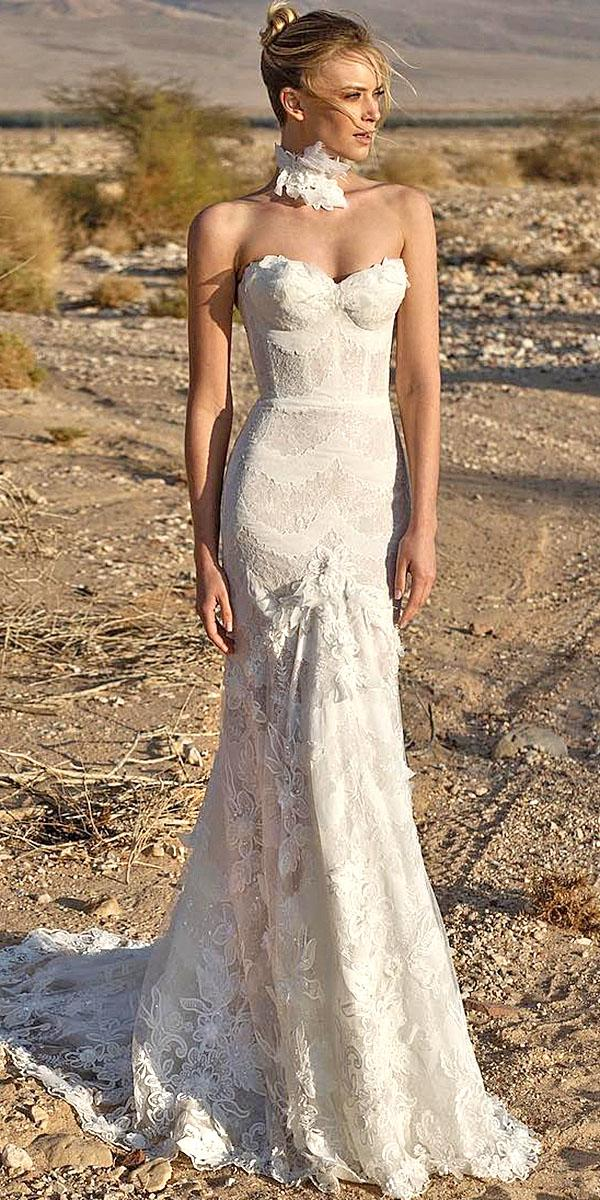 lian rokman wedding dresses mermaid strapless sweetheart full embellishment floral appliques