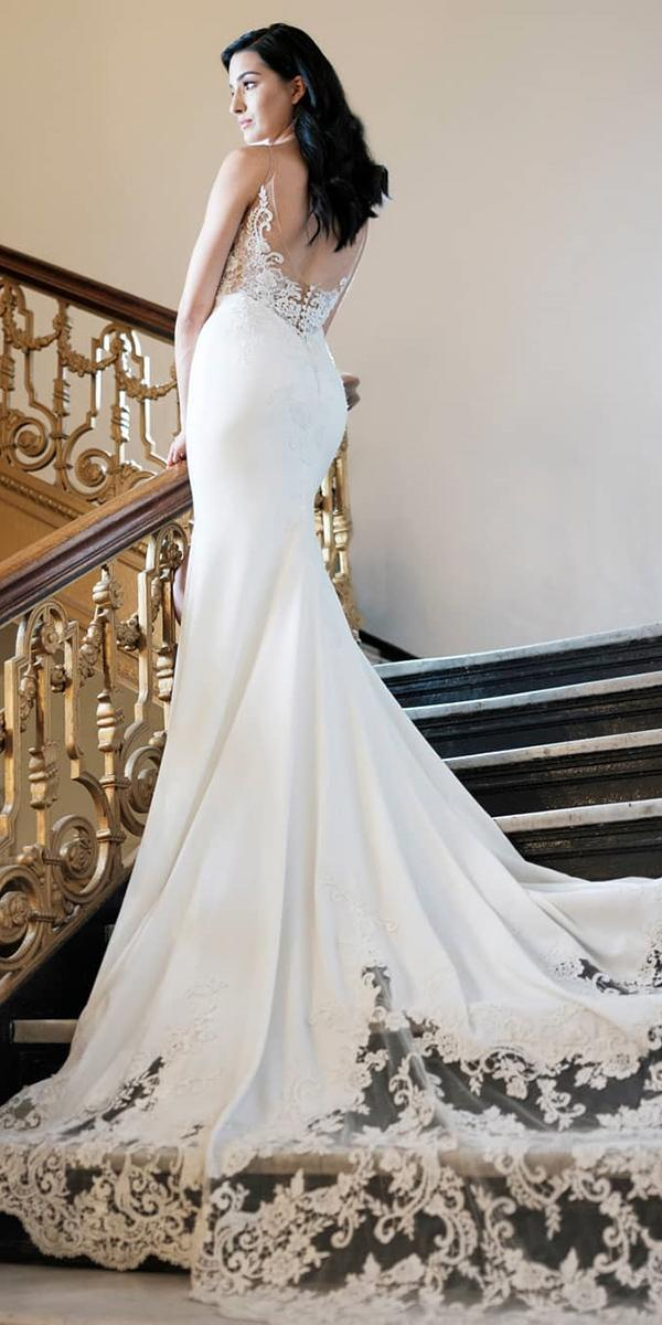 24 Excellent And Elegant Silk Wedding Dresses Wedding