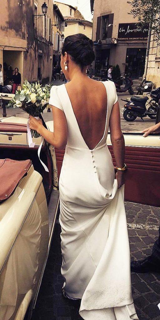 27 Silk Wedding Dresses For Elegant And Refined Bride Wedding Dresses Guide