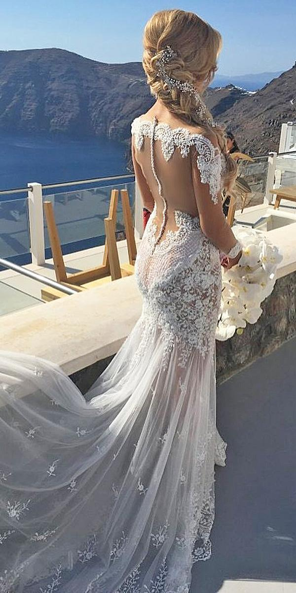sovannary en couture wedding dresses low back illusion lace sleeves with train