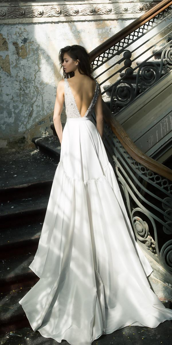 vered vaknin wedding dresses a line v shape open back