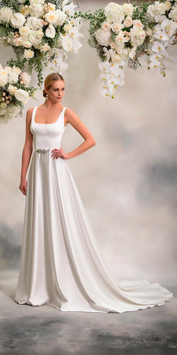 anna georgina wedding dresses a line scoop neck-with-straps style catherine