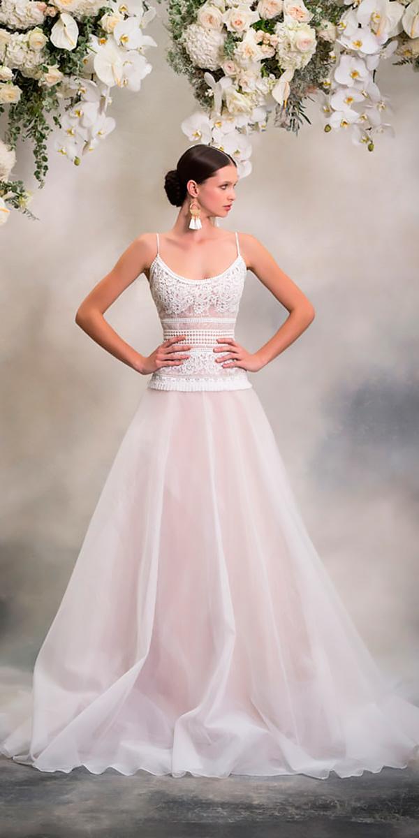 anna georgina wedding dresses a line spaghetti straps scoop neckline style yuka