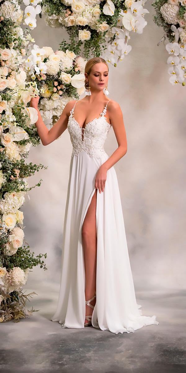 anna georgina wedding dresses straight sweetheart with spaghetti straps lace style ali