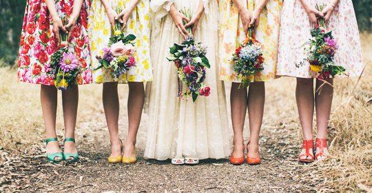 floral bridesmaid dresses featured julia archibald