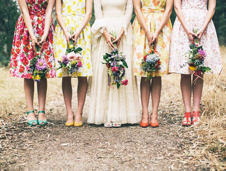floral bridesmaid dresses featured julia archibald