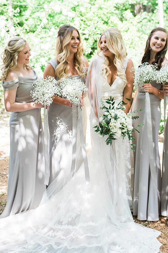 9 Sophisticated Grey Bridesmaid Dresses | Wedding Dresses Guide