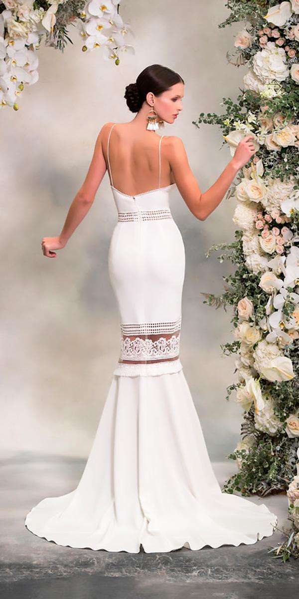 lace mermaid simple sleeveless anna georgina wedding dresses style lauren