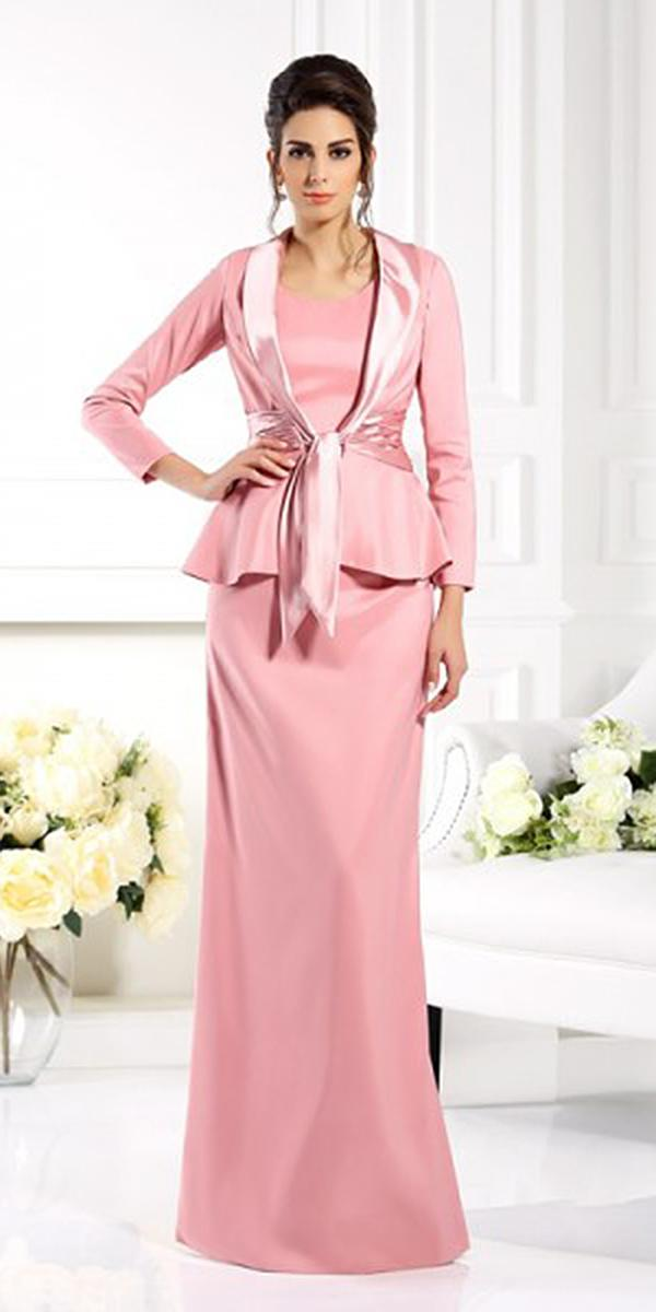 long mother of the bride and groom dresses sheath jacked modern jasmine bridal